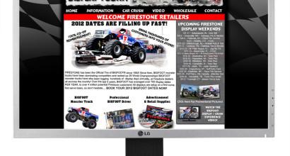 Firestone Tires / Bigfoot 4x4 Satellite Site